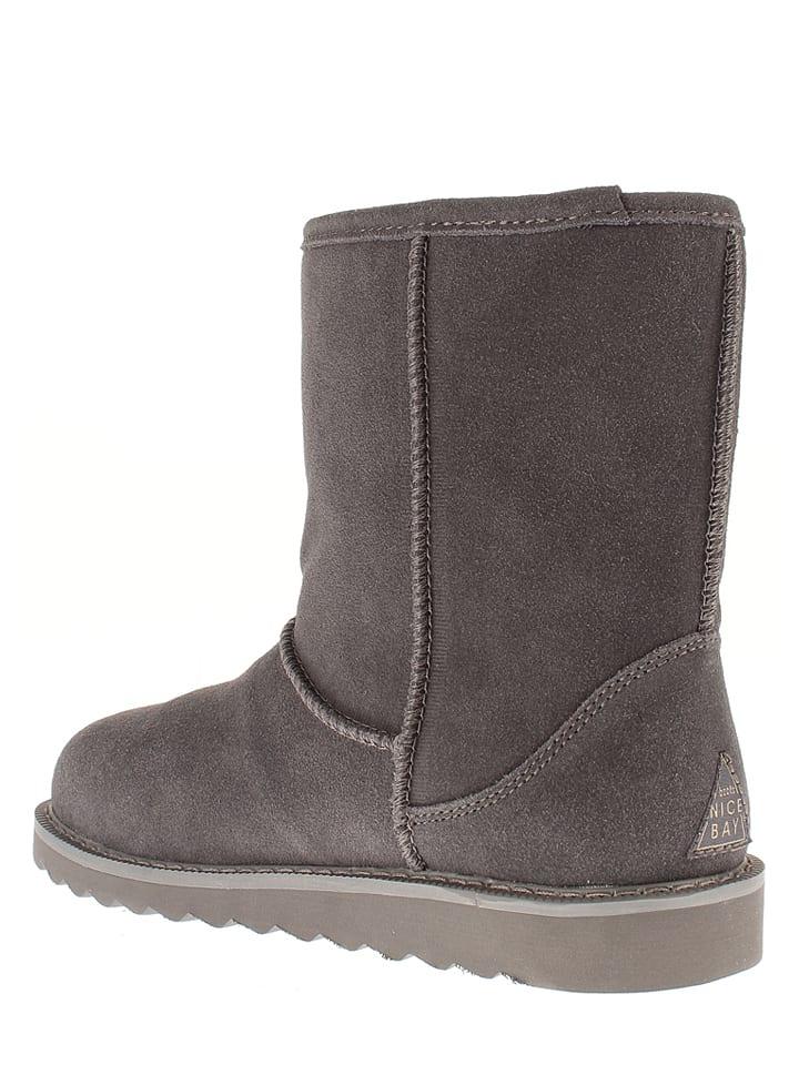 "NICEBAY Leder-Boots ""Nirvana Waterproof"" in Anthrazit"