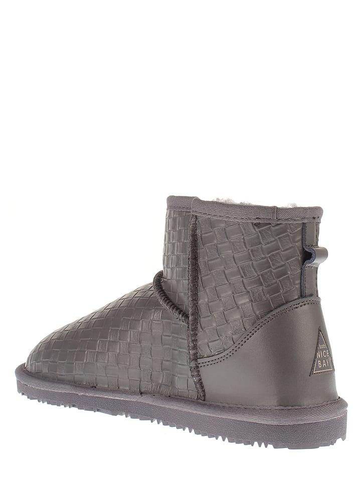 "NICEBAY Leder-Boots ""Peak"" in Anthrazit"