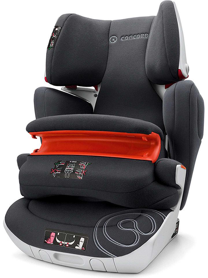 """Concord Fotelik samochodowy """"Transformer Isofix XT Pro"""" w kolorze czarnym - grupa 1/2/3"""