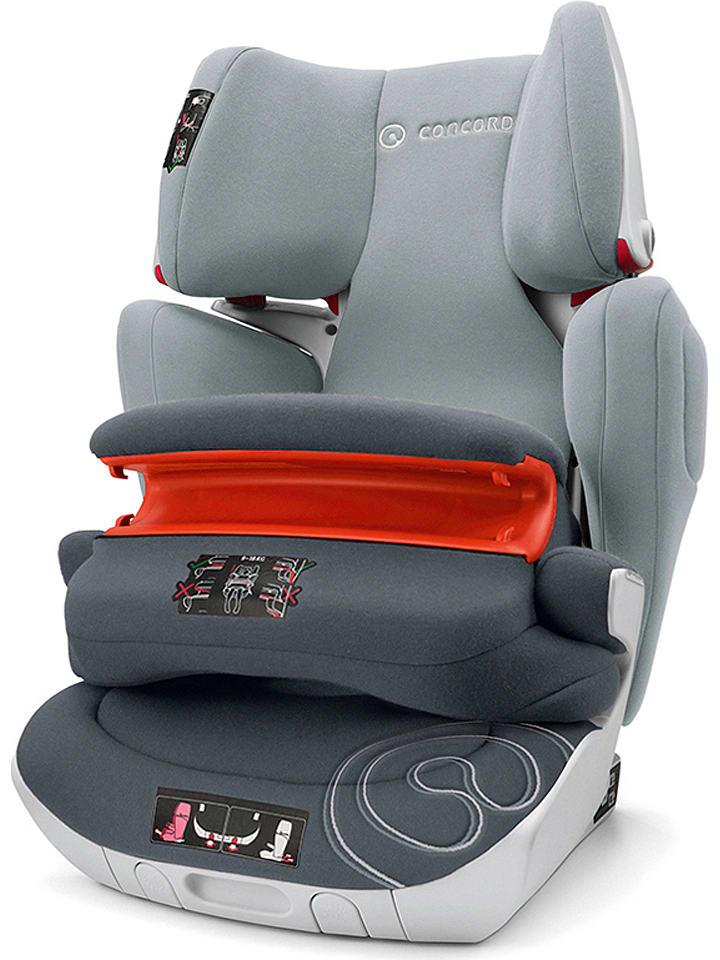 """Concord Fotelik samochodowy """"Transformer Isofix XT Pro"""" w kolorze szarym - grupa 1/2/3"""