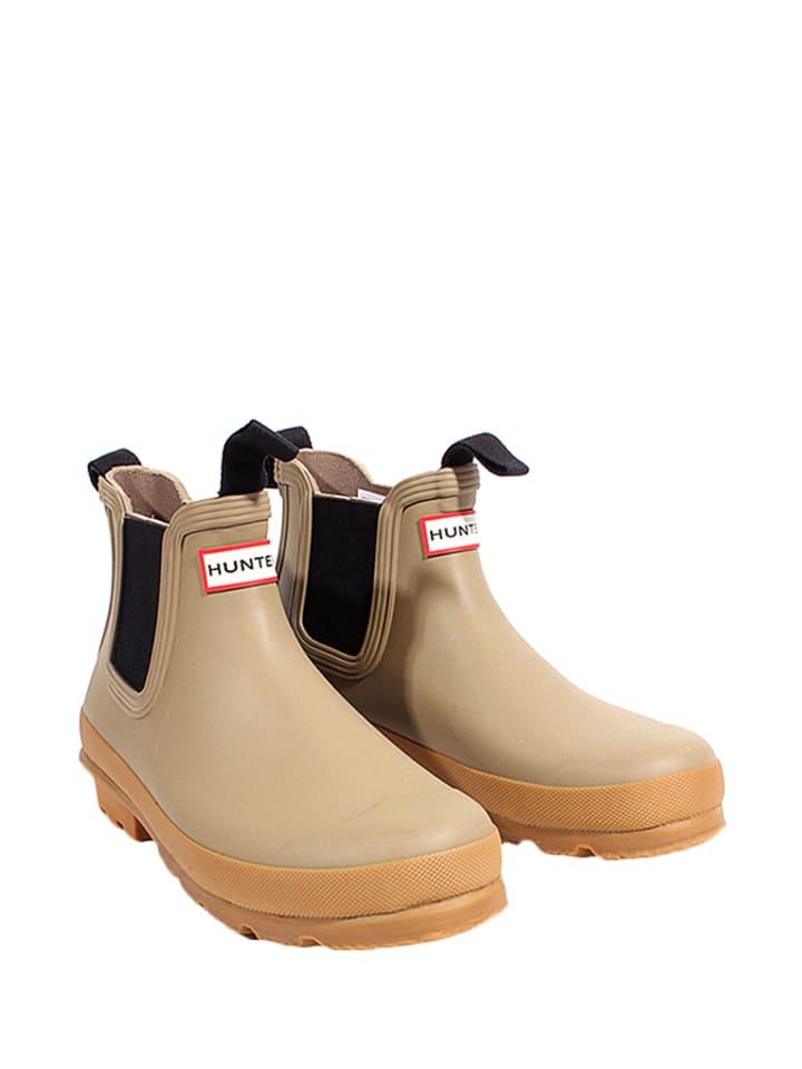 Hunter Boots Gummistiefel in Khaki - 51% K5L65