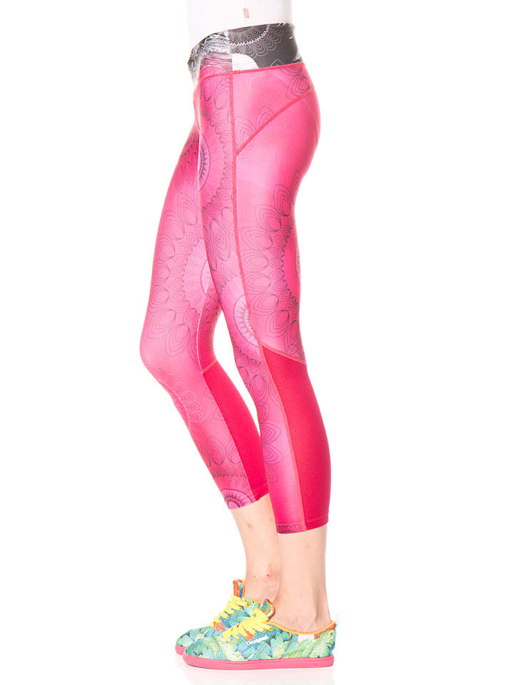 Desigual Sport Leggings in Pink