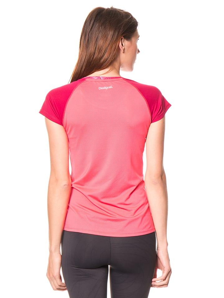 Desigual Sport Funktionsshirt in Pink