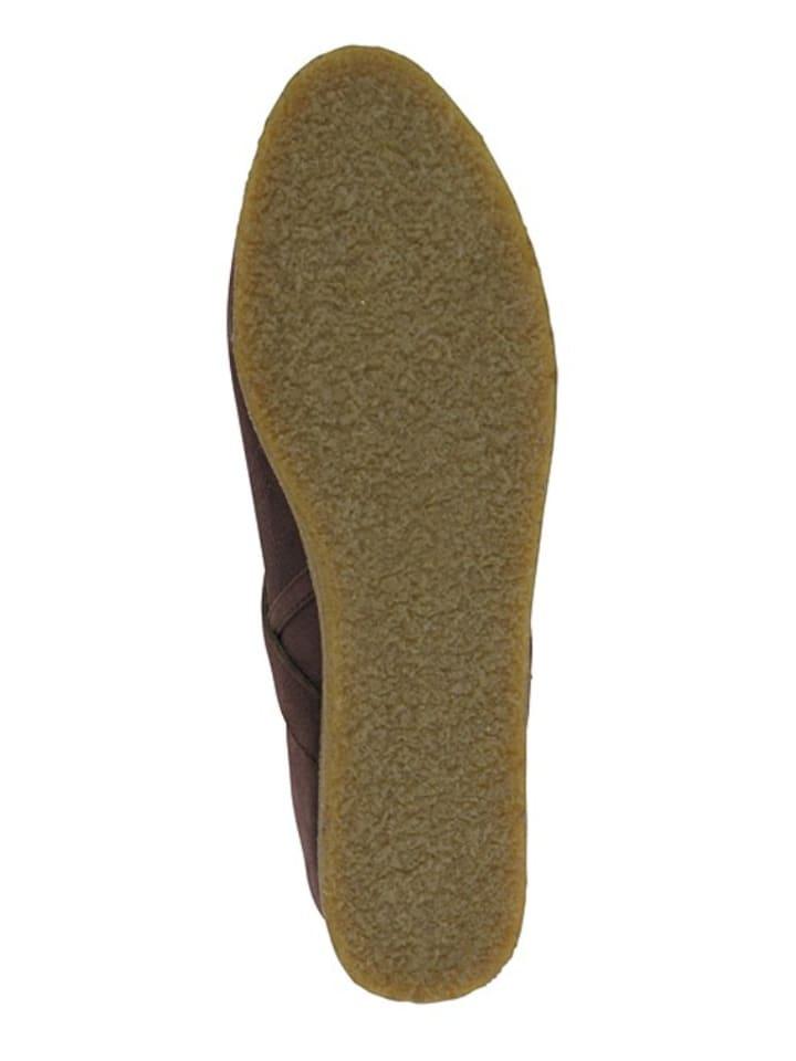 Flip Flop Leder-Boots Billy Ring in Dunkelbraun