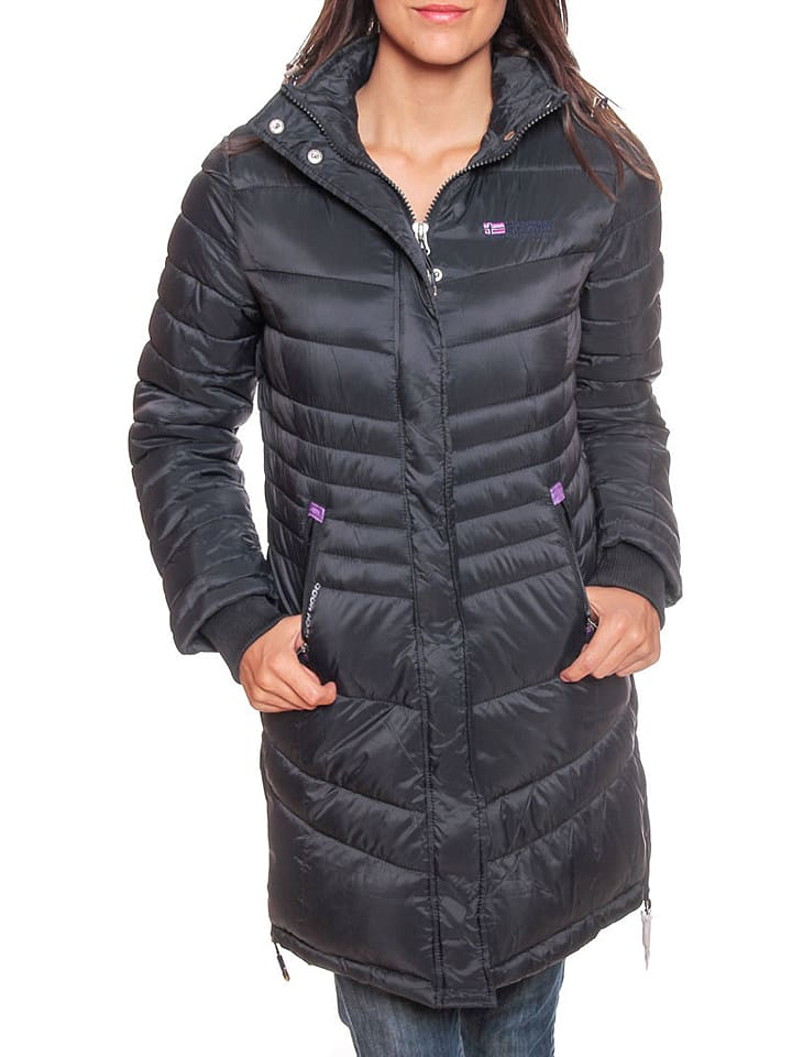 """Geographical Norway Parka """"Carless"""" donkerblauw"""