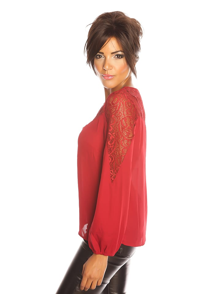 "Famous Shirt ""Bella"" in Rot"