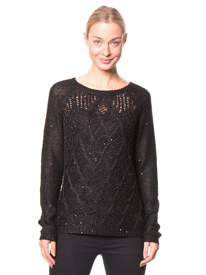 Lilou Secret Pullover in Schwarz