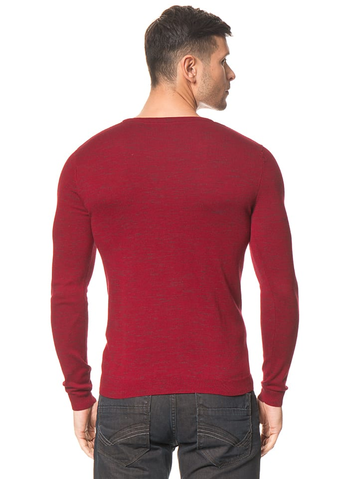 Tom Tailor Pullover in Rot