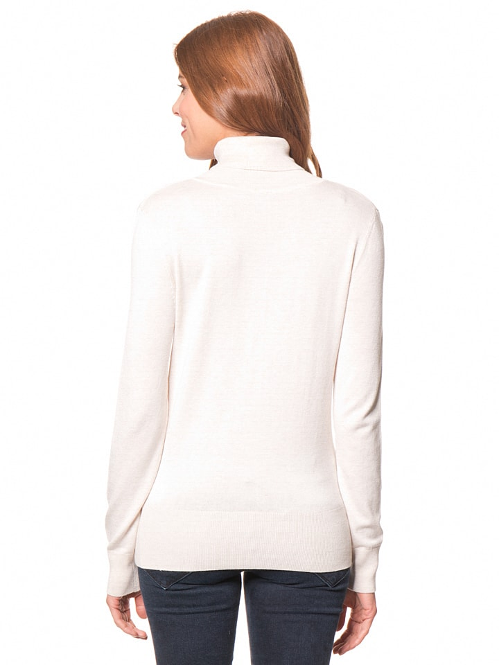 Tom Tailor Pullover in Creme