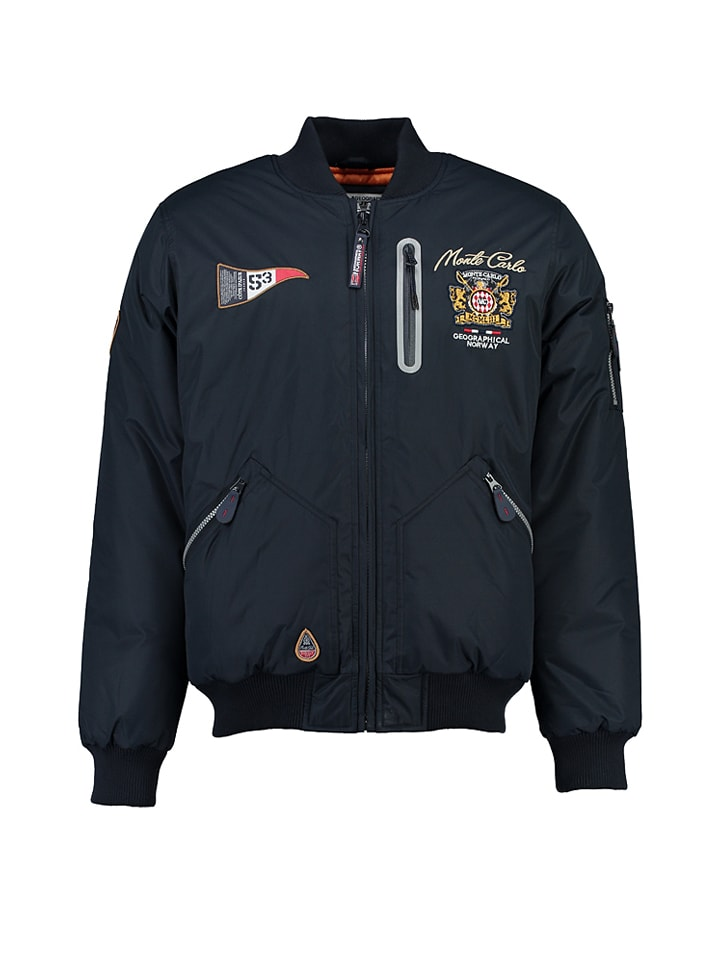 "Geographical Norway Jacke ""Constantine"" in Dunkelblau"
