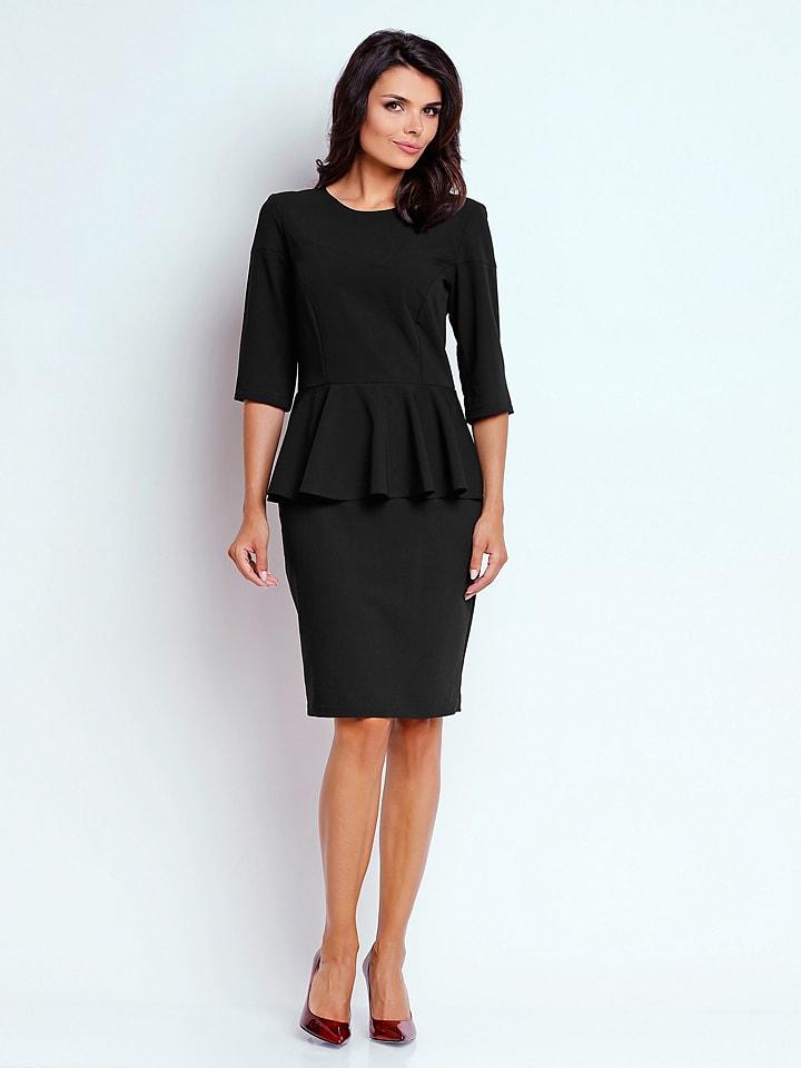 Naoko Kleid in Schwarz