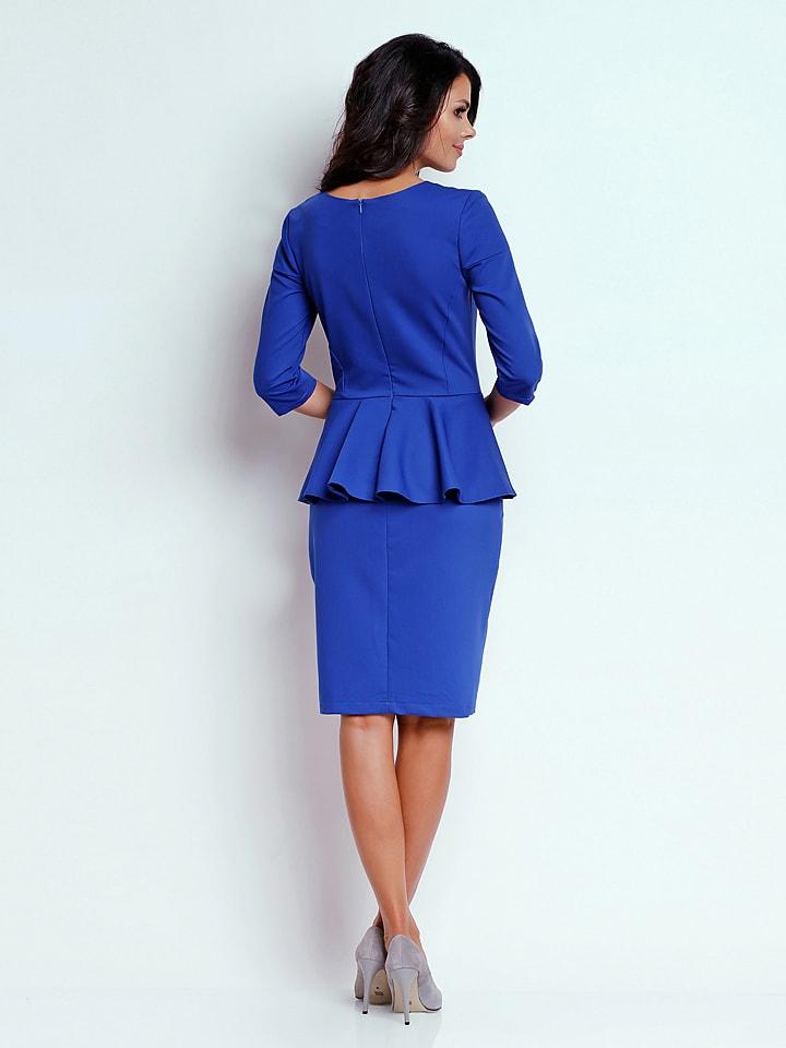 Naoko Kleid in Blau