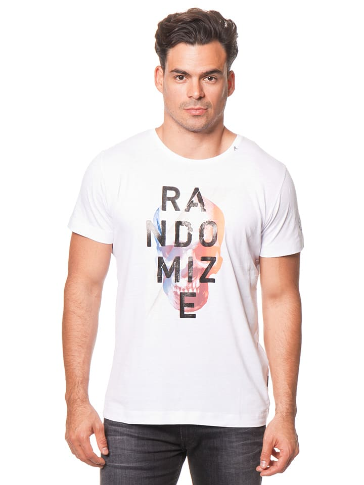 Replay Shirt in Weiß