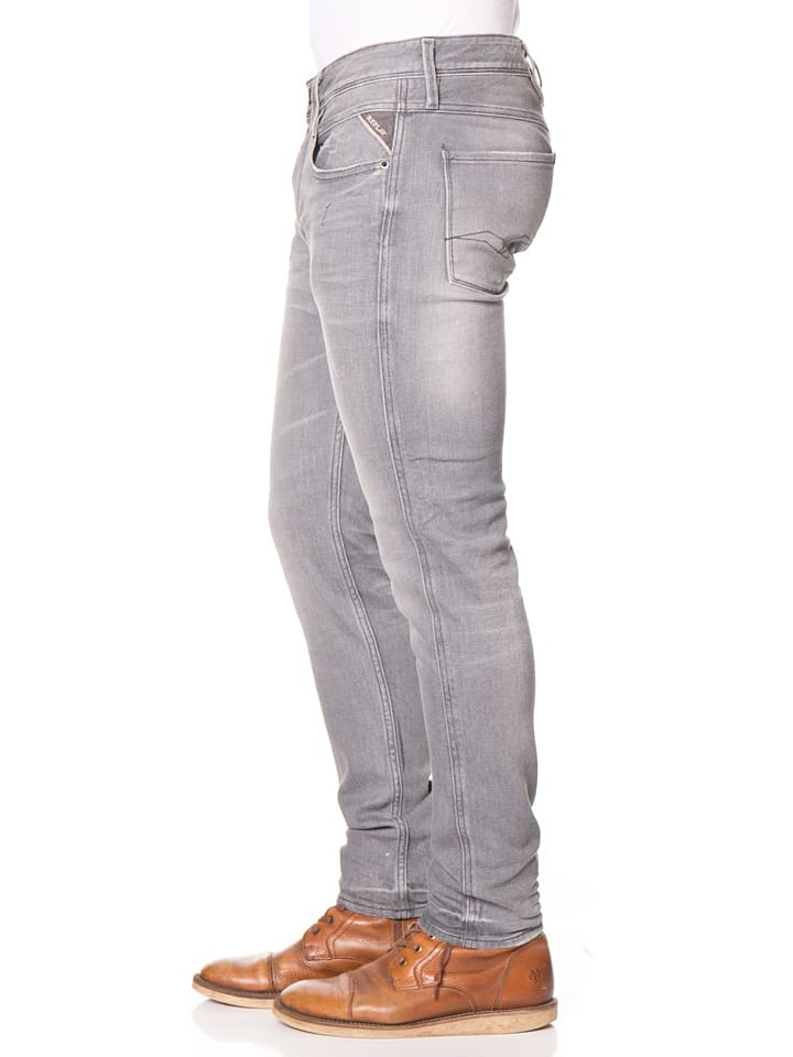 "Replay Jeans ""Anbass"" - Slim fit - in Grau"