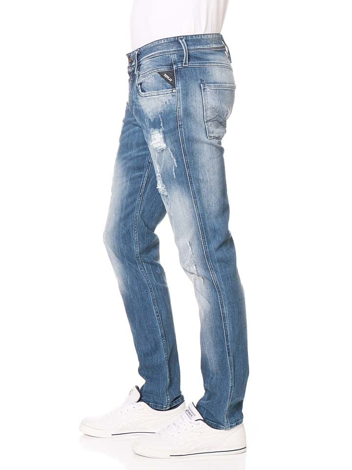 "Replay Jeans ""Anbass"" - Regular fit - in Hellblau"