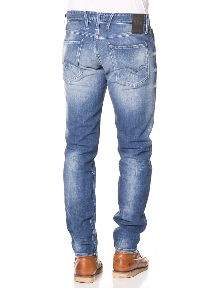 """Replay Jeans """"Anbass"""" - Regular fit - in Blau"""