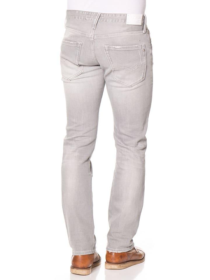 """Replay Jeans """"Waitom"""" - Slim fit - in Grau"""