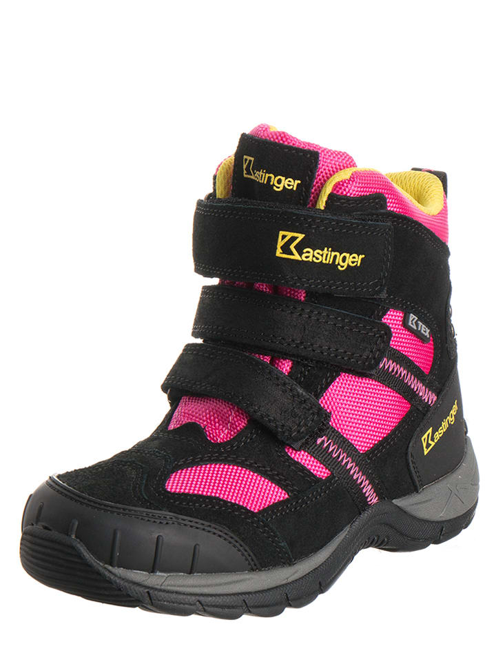 Kastinger Winter-Boots in Pink/ Schwarz