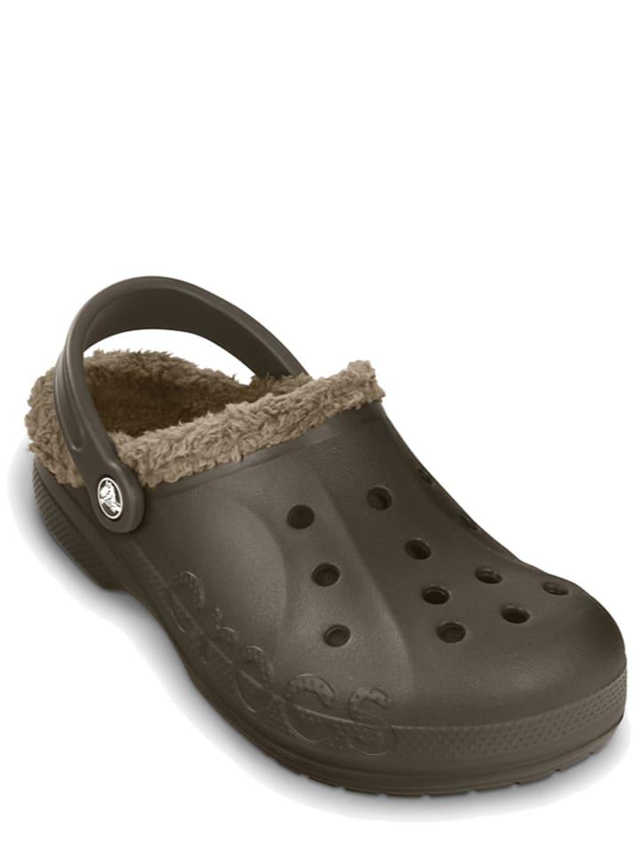 "Crocs Clogs ""Baya Lined"" in Khaki"