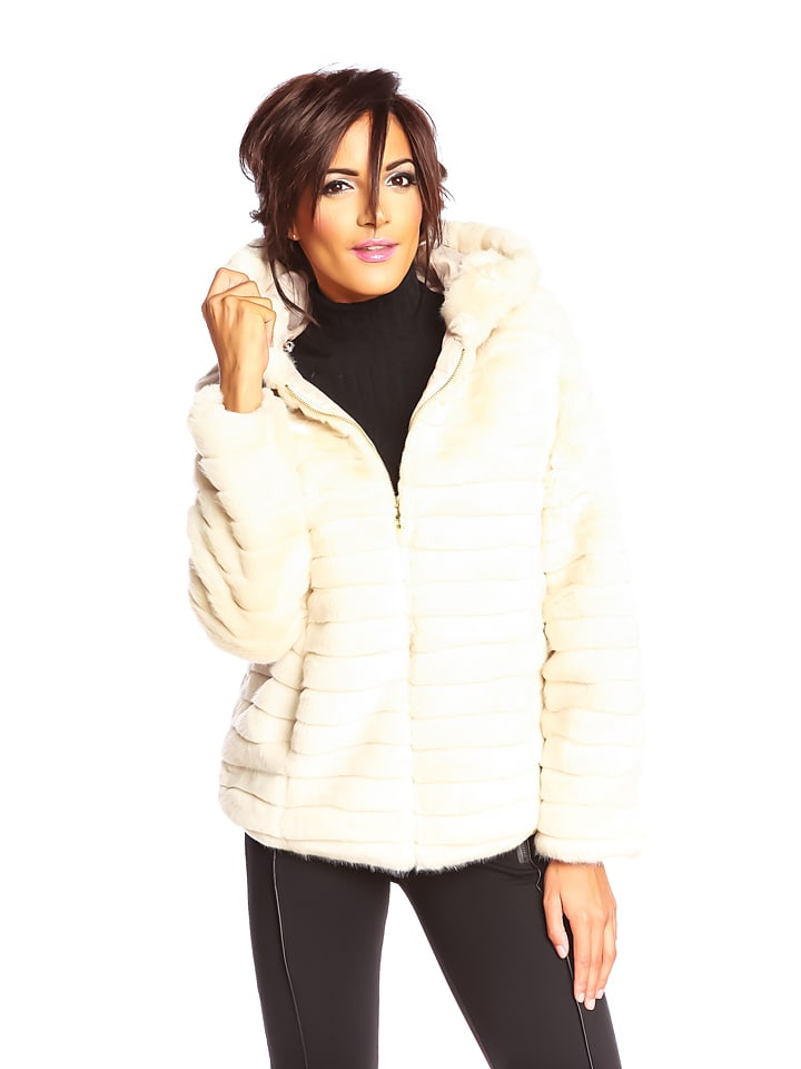 "Scarlet Jones Jacke ""Denise"" in Creme"
