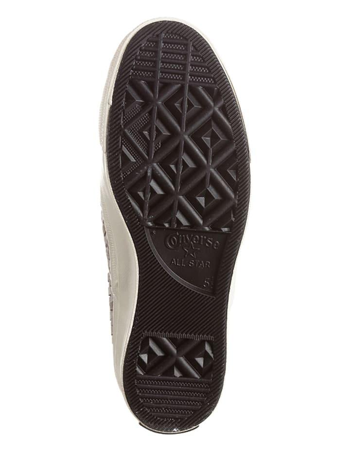 Converse Leder-Slipper in Creme