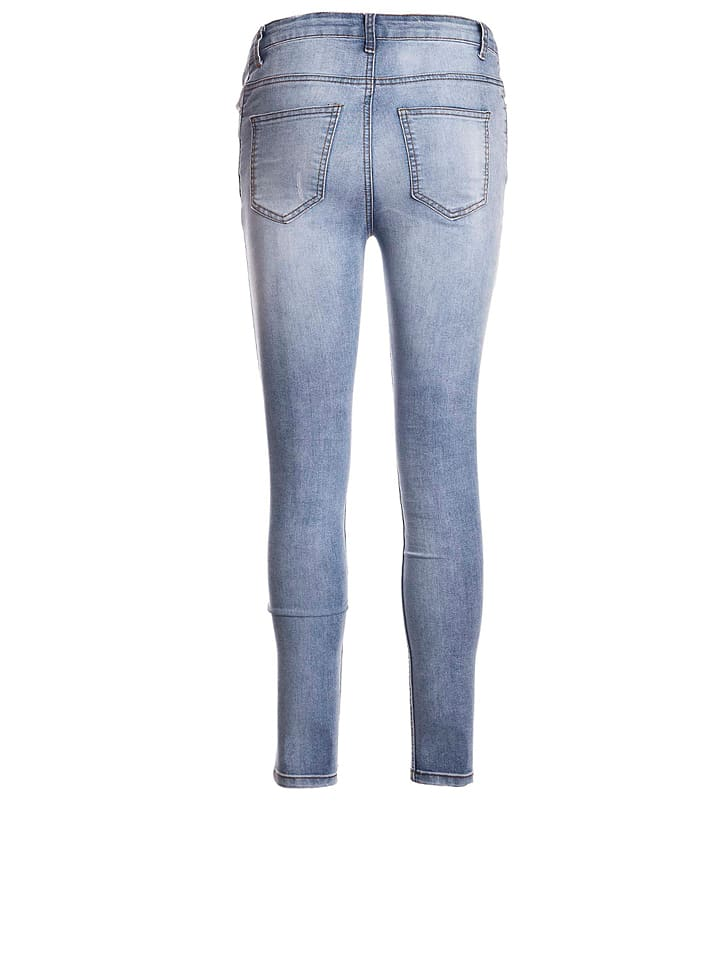 "SisterS point Jeans ""Mili"" in Blau"