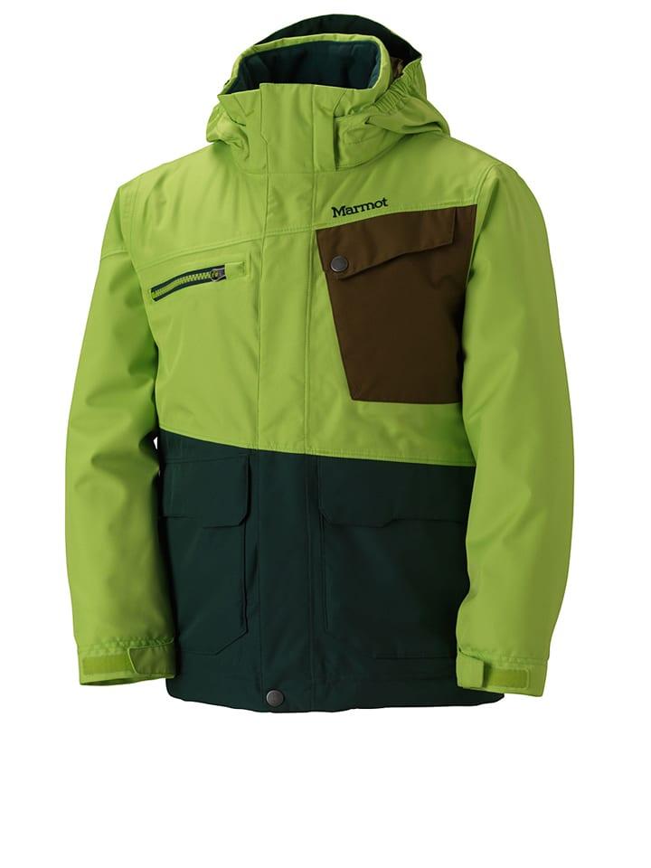 "Marmot Ski-/snowboardjas ""Space Walk"" lichtgroen/bruin/donkergroen"