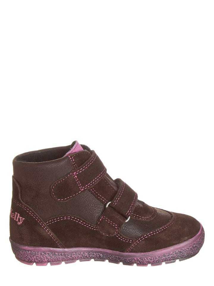 Lelli Kelly Leder-Sneakers in Braun