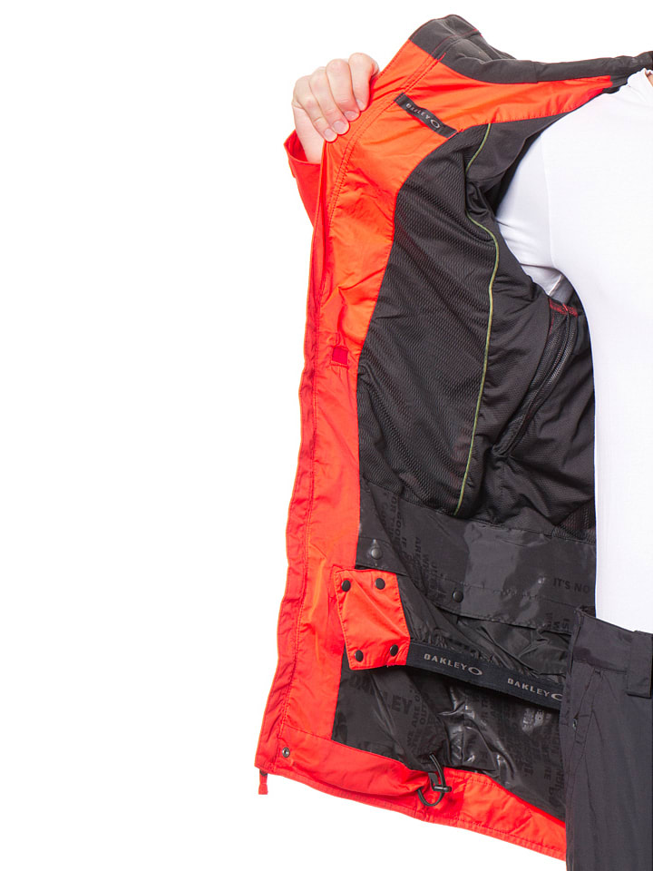 "Oakley Ski-/ Snowboardjacke ""El Cap Biozone"" in Orange"
