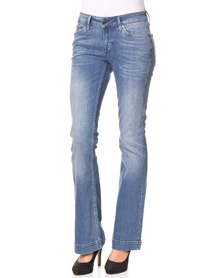 """Mustang Jeans """"Jasmin"""" - Slim fit - in Hellblau"""