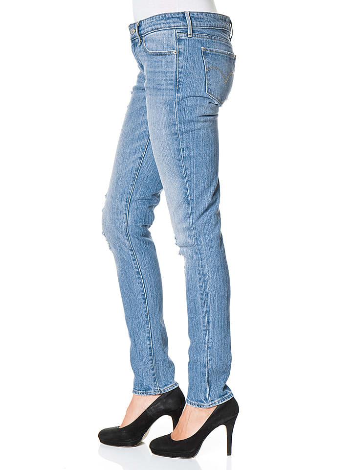 "Levi´s Jeans ""711"" - Skinny fit - in Blau"