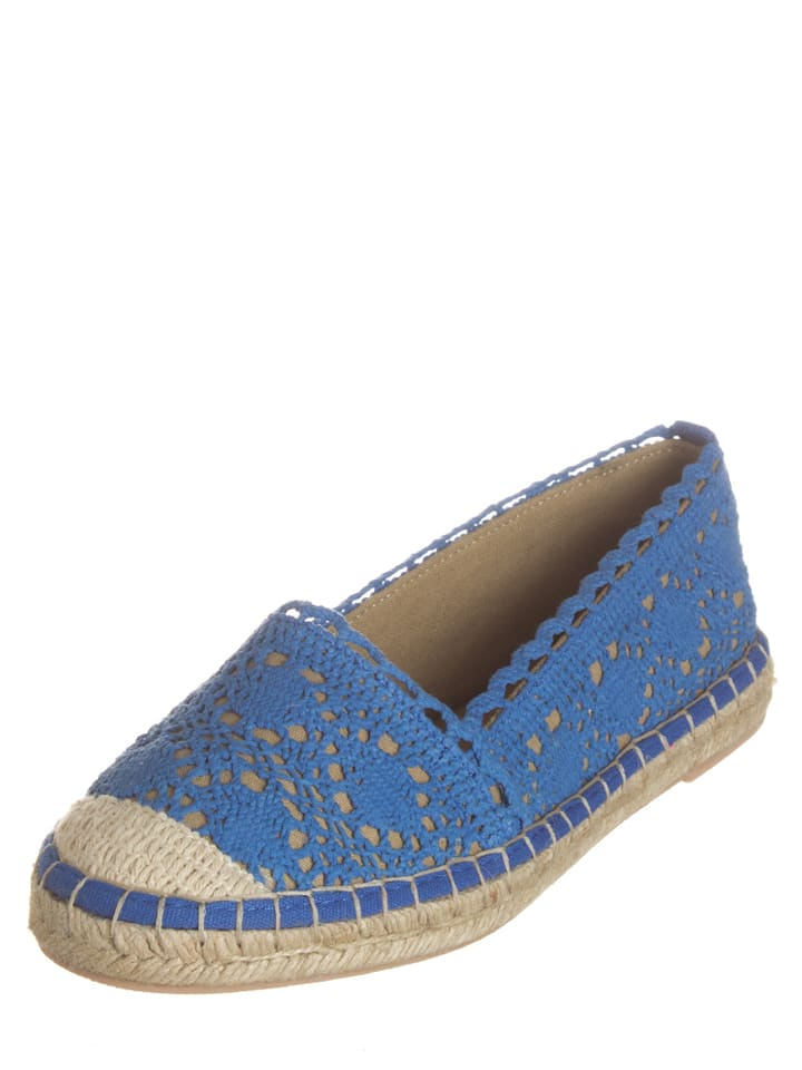 Buffalo Slipper in Blau