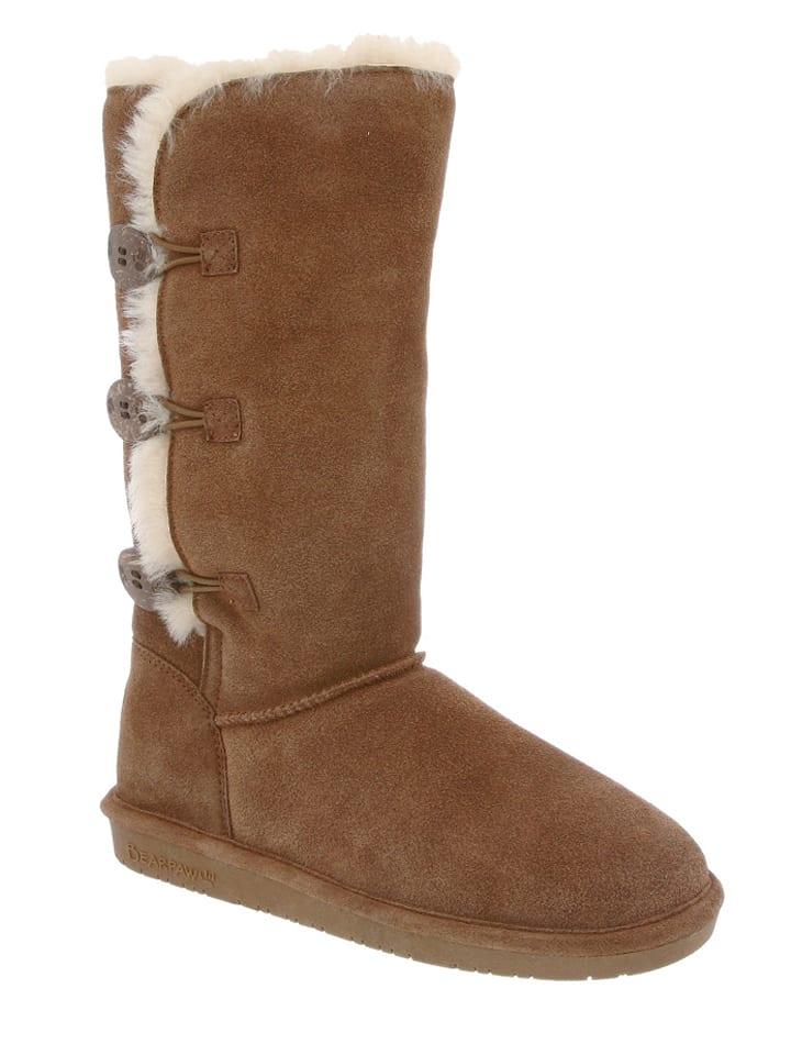 Bearpaw Leder-Stiefel Lauren in Braun - 57% Ee8CJt