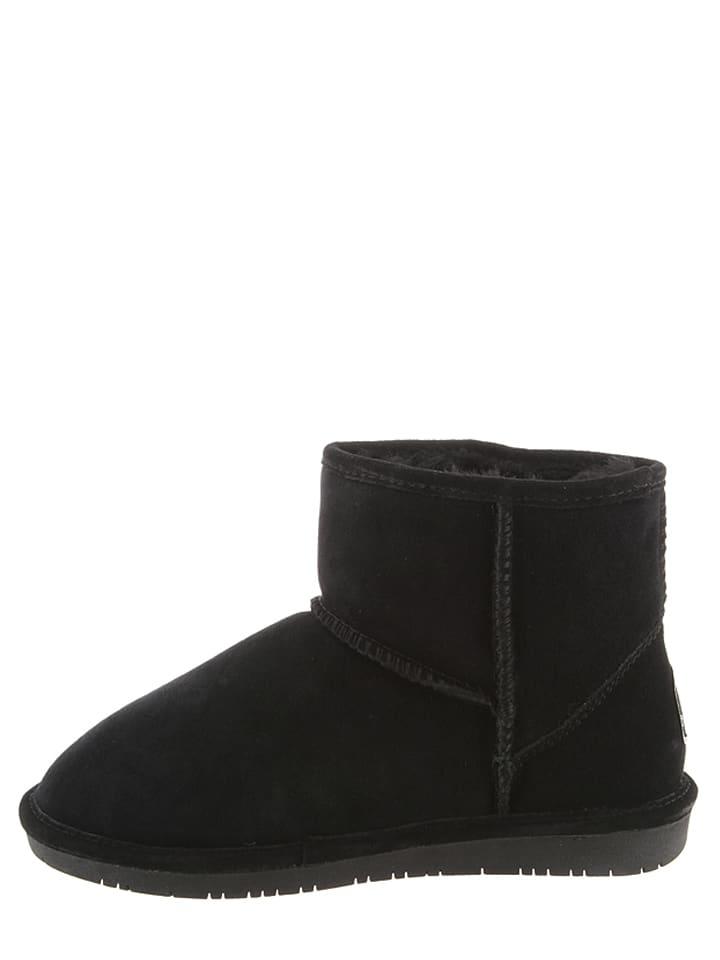 "Bearpaw Leder-Boots ""Demi"" in Schwarz"