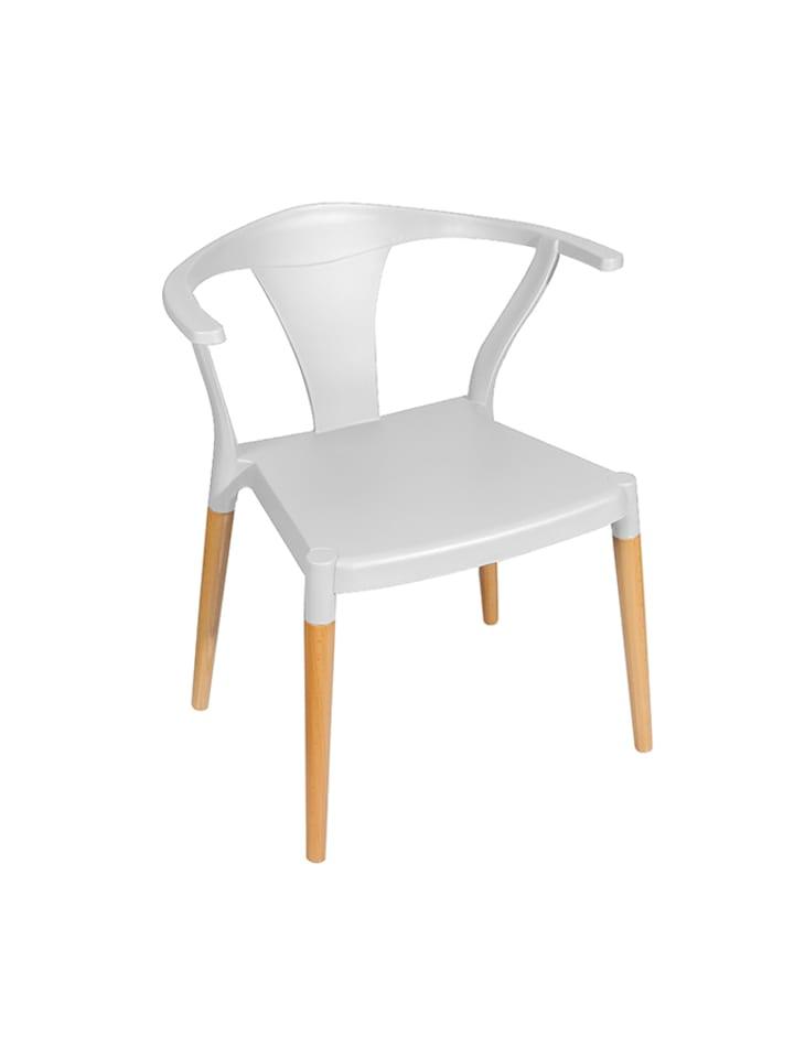 Unico Krzesło w kolorze białym