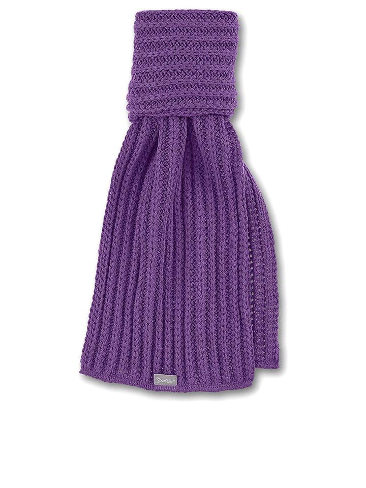 Sterntaler Gebreide sjaal paars