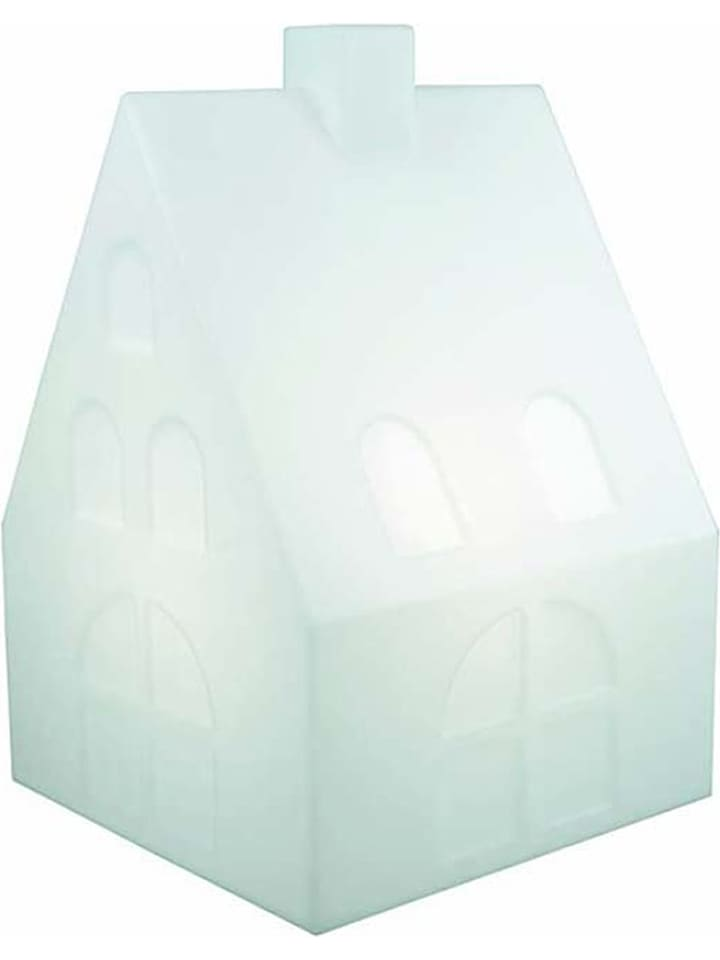 "8 seasons LED-decoratielamp ""Shining House"" wit - (B)38,5 x (H)57 x (D)38,5 cm"