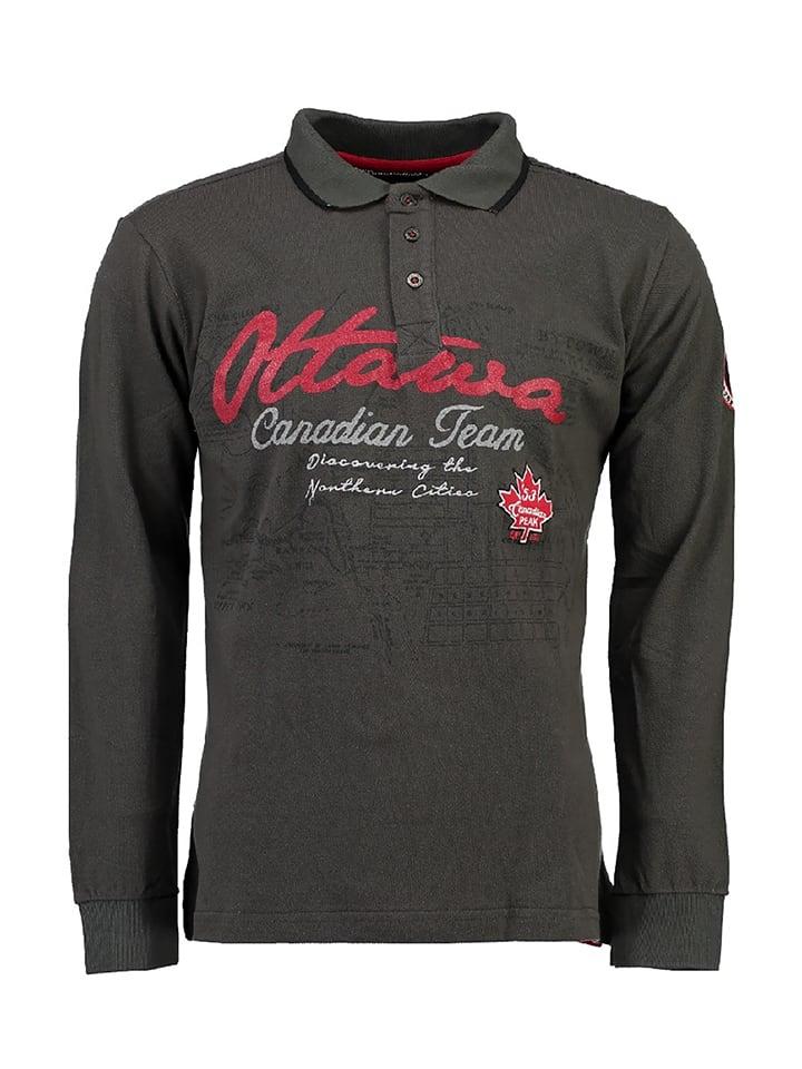 "Canadian Peak Poloshirt ""Karandeo"" in Anthrazit"