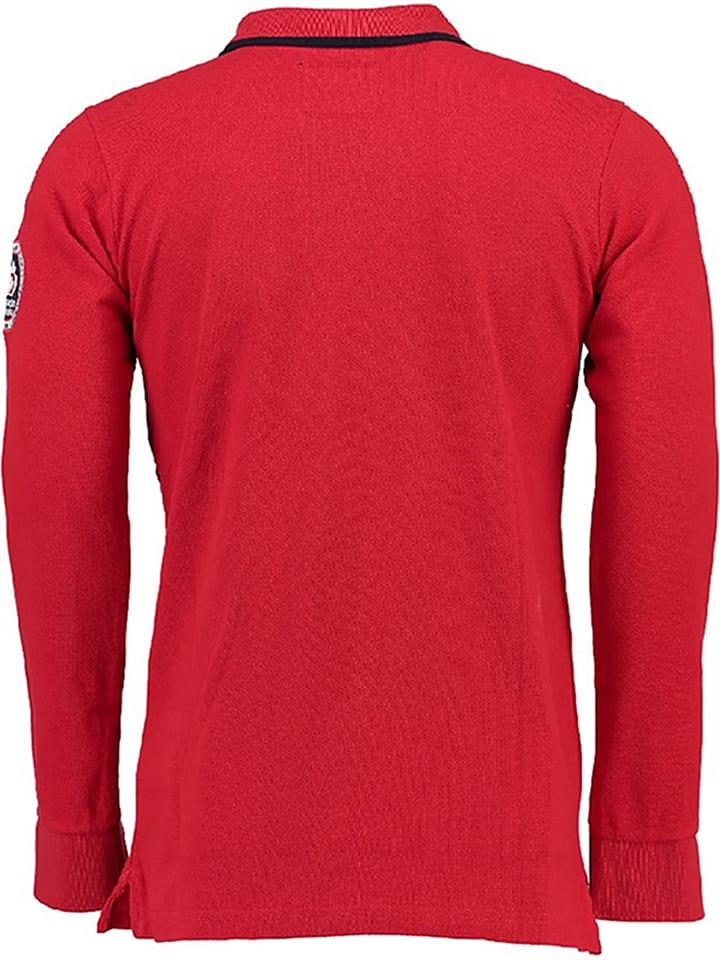 "Canadian Peak Poloshirt ""Karandeo"" in Rot"