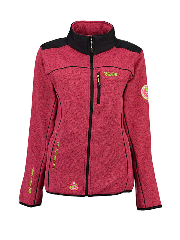 "Canadian Peak Fleecejacke ""Tannak"" in Pink"
