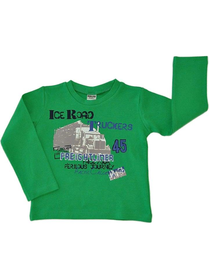 Jacky Bluza w kolorze zielonym