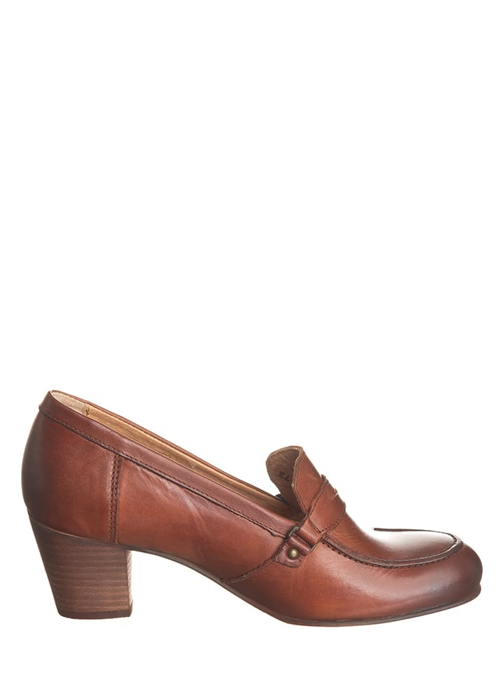 Kickers Leder-Pumps Setinmoc in Braun - 36% rkFRUFk8