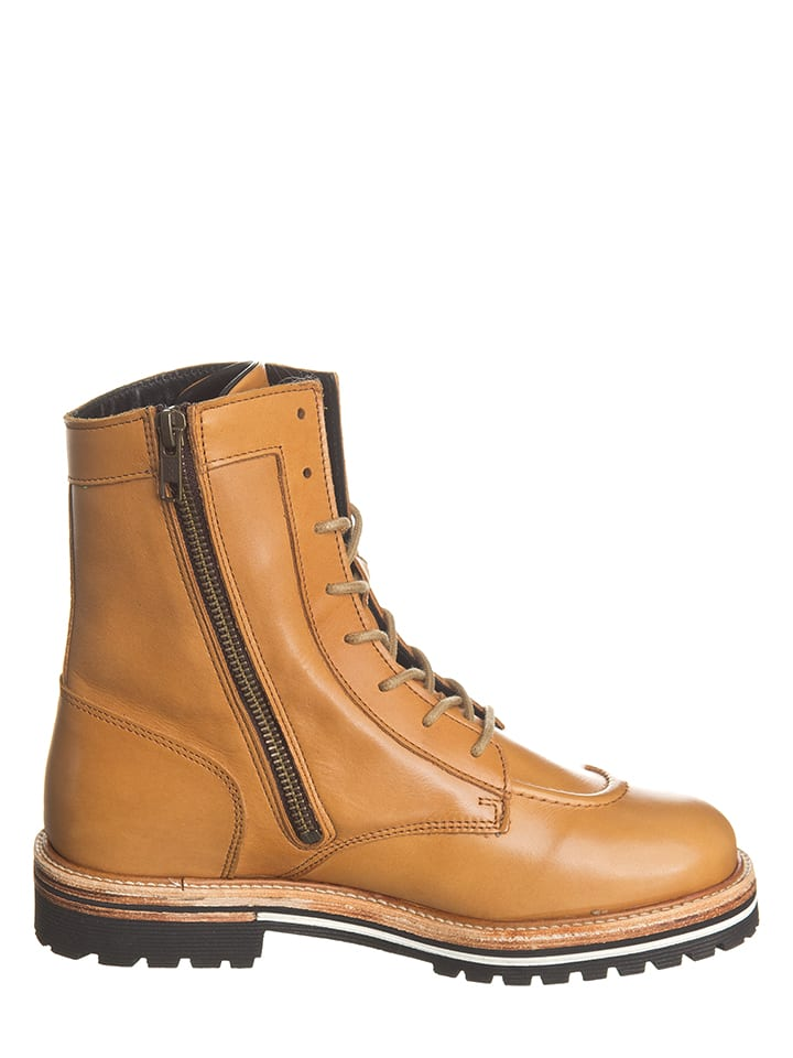 "Kickers Leder-Boots ""Orianthis"" in Camel"