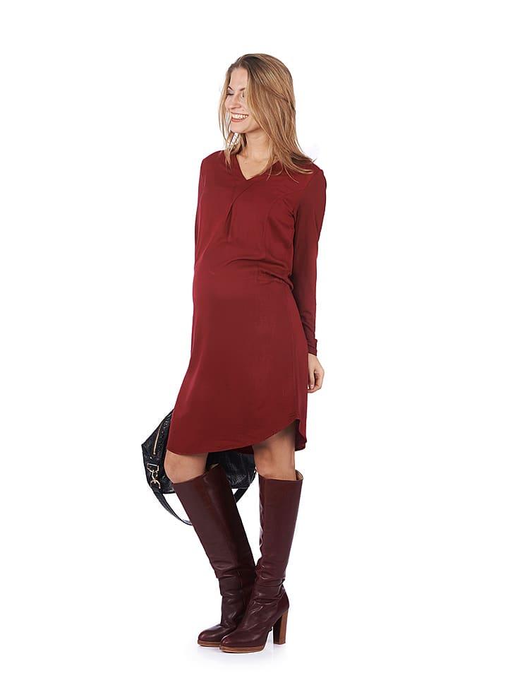 37.5 Beloved Kleid in Bordeaux