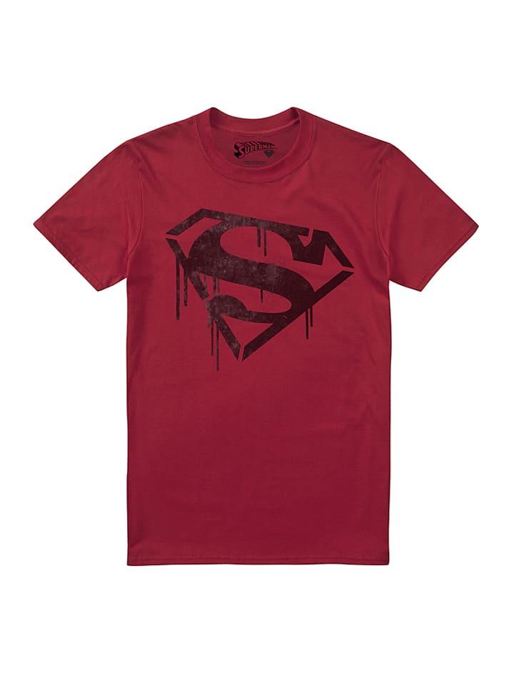 "DC Comics Shirt ""Superman"" in Rot"