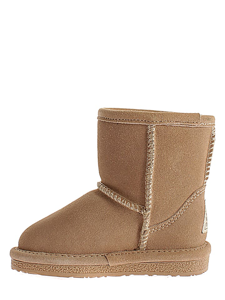 Gooce Leder-Winterboots Ethel Toddler in Sand