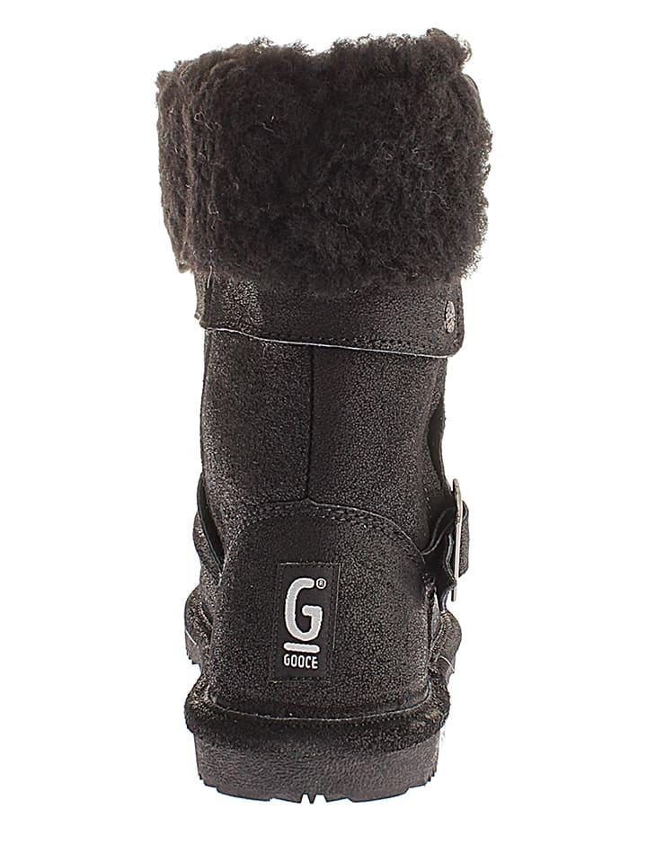 "Gooce Leder-Boots ""Paradis"" in Schwarz"