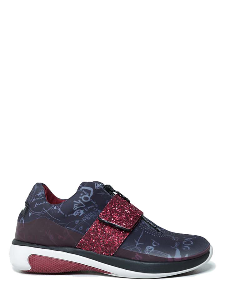 "Desigual Sneakers ""Gipsy Dance"" in Blau/ Rot"