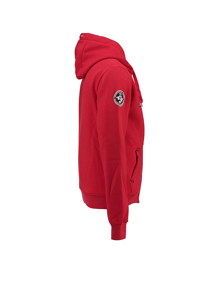 "Geographical Norway Sweatjacke ""Gabouret"" in Rot"