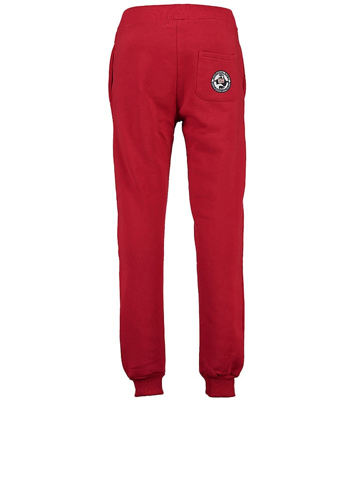 "Geographical Norway Sweathose ""Mapolitain"" in Rot"